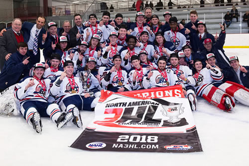 2018 NA3HL Fraser Cup Champions - Metro Jets